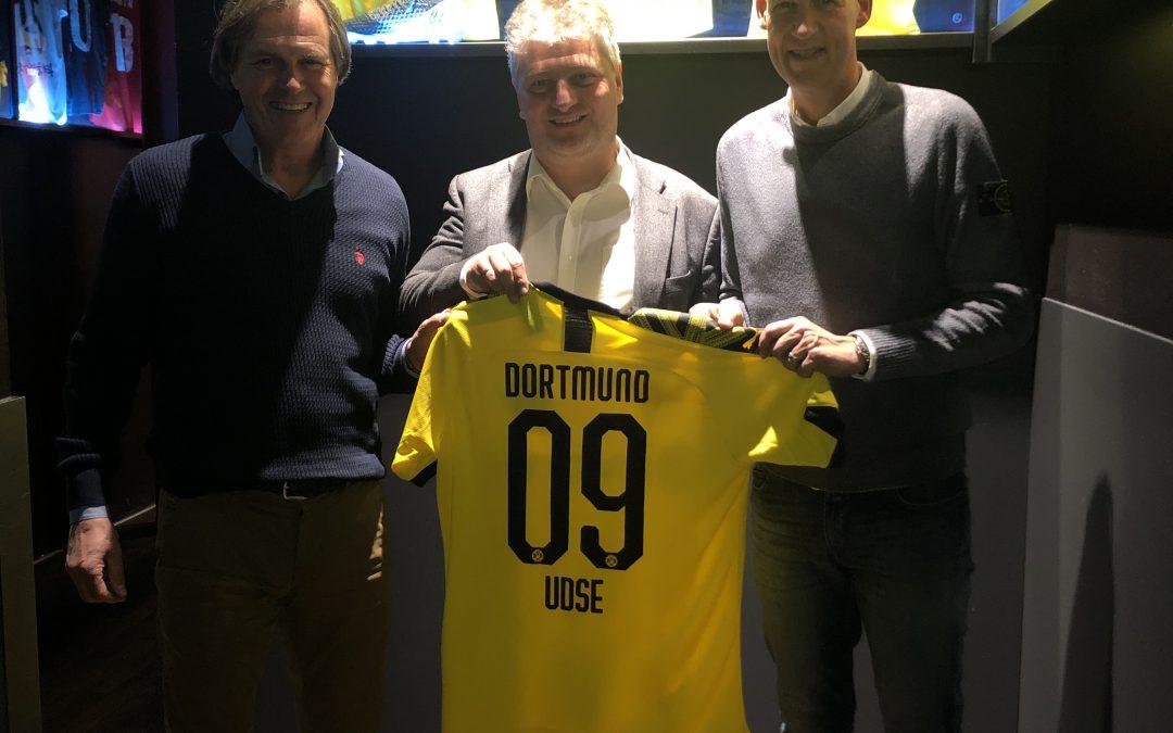 Együttműködési megállapodást írt alá a Borussia Dortmund és az UD Magyar-Német Sportegyesület!