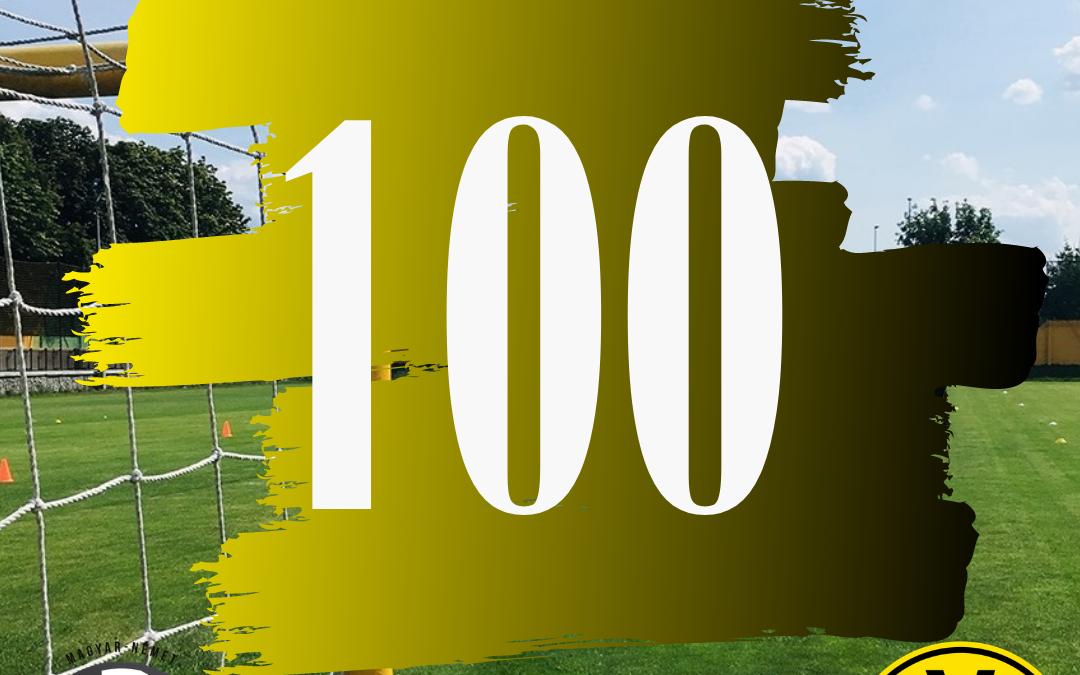 Megszereztük 100. gólunkat!